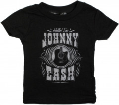 Johnny Cash kinder T-shirt Hello I'm Johnny