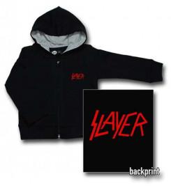 Slayer Logo Red baby sweater (Print On Demand)