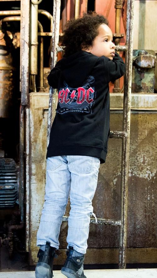 ACDC Black Ice kids sweater fotoshoot