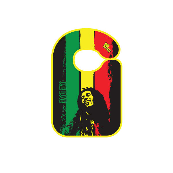 Rock baby slabbertje Bob Marley One love