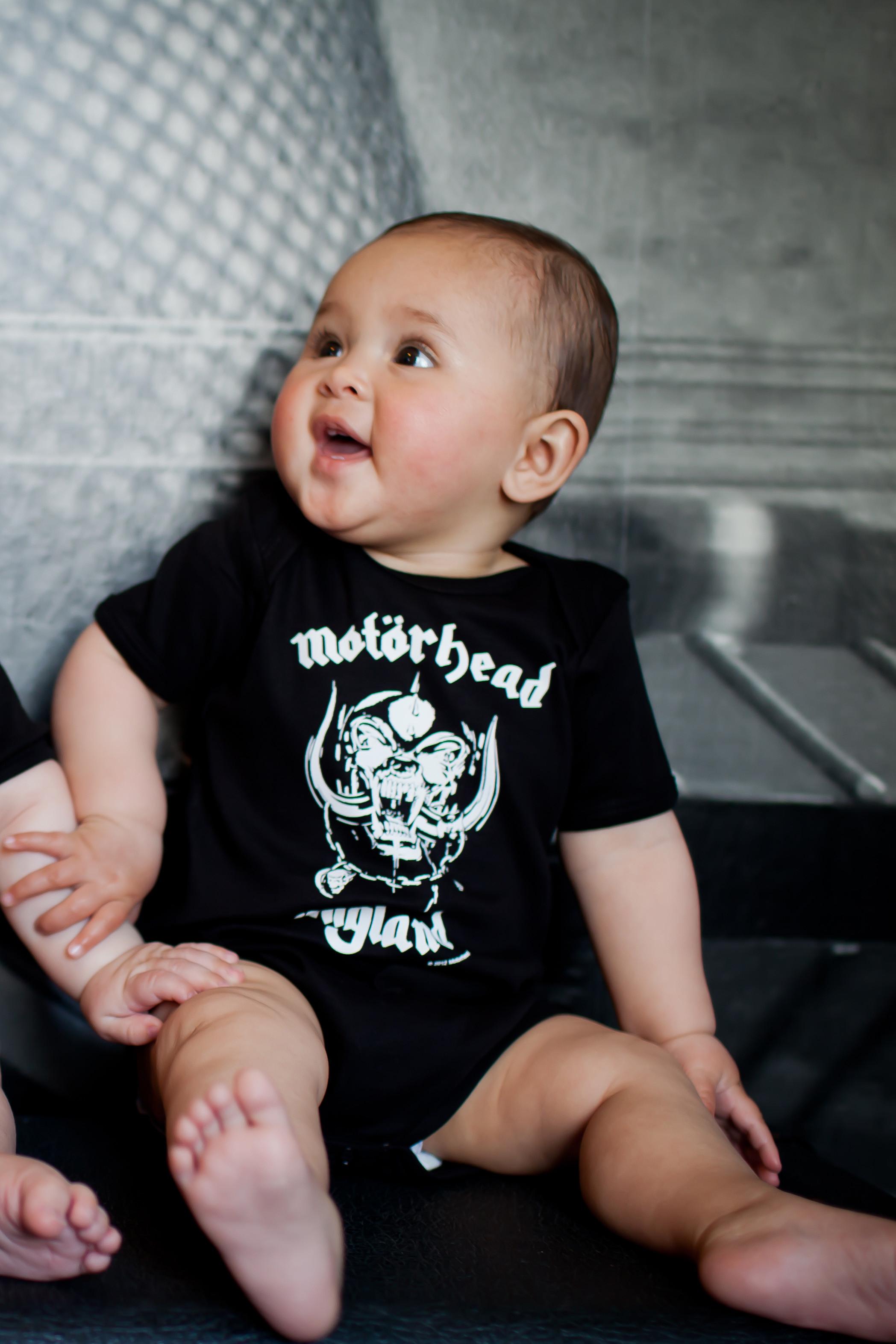Motorhead baby romper England