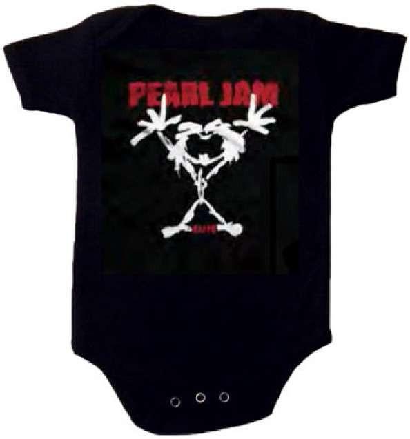 Pearl Jam baby romper Stickman