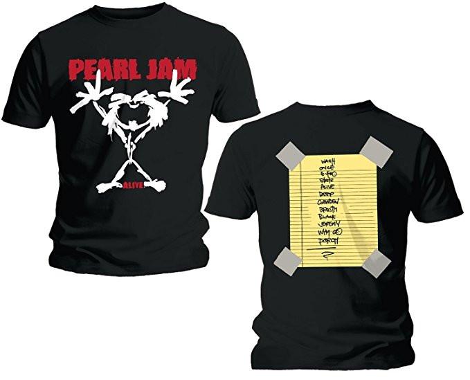 Duo Rockset Pearl Jam papa t-shirt & Pearl Jam baby romper