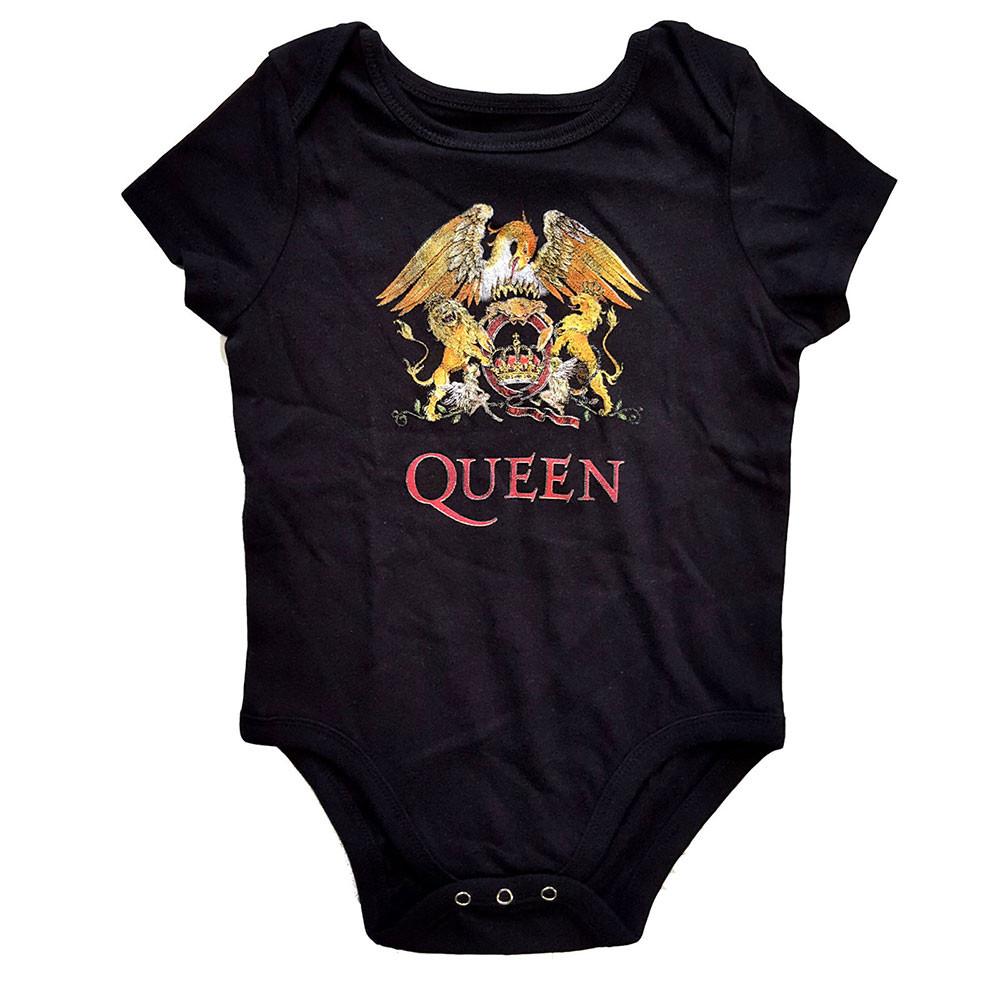 Queen baby romper Classic Crest