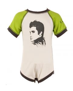Elvis body Green/White