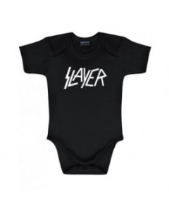 Slayer body Logo White | Metal Kids and Baby collection