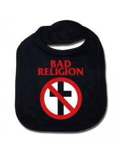 Bad Religion baby slabbetje Cross Cotton