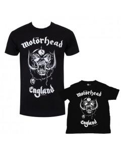 Duo Rockset Motörhead papa t-shirt & baby t-shirt