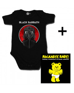 Cadeauset Black Sabbath Baby Romper 2014 & Black Sabbath CD