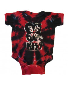 Kiss baby romper Red