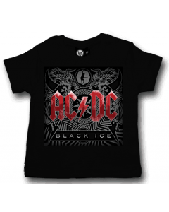 ACDC Baby T-shirt Black Ice