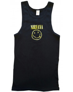 Nirvana rock hemd voor kinderen Smiley