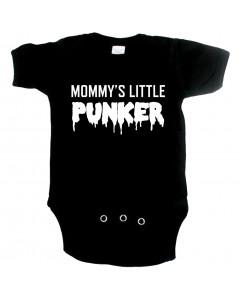 punk baby romper mommy's little punker