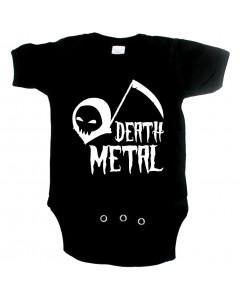 Metal babyromper death metal