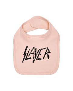 Slayer baby slabbertje Logo pink