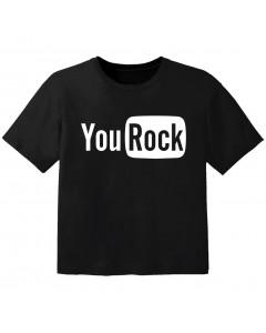rock baby t-shirt you rock