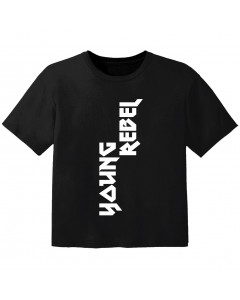 coole kinder t-shirt young rebel