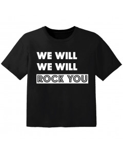 rock kinder t-shirt we will we will rock you