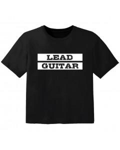 rock kinder t-shirt lead guitar