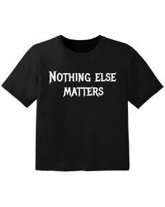 metal kids t-shirt nothing else matters
