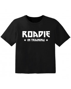 coole kinder t-shirt roadie in training