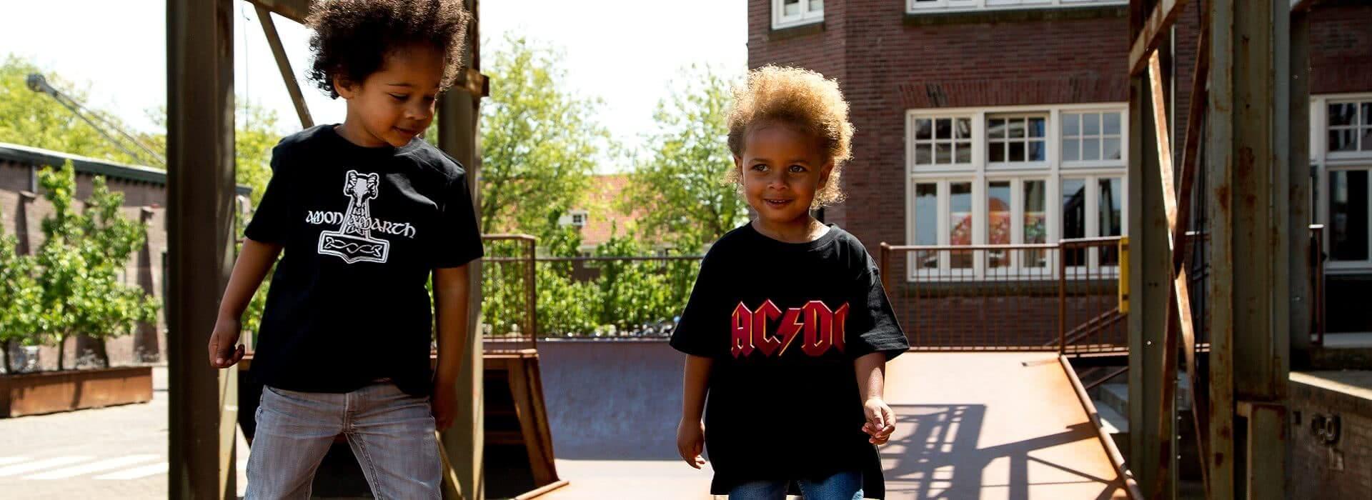 Metal kids kleding